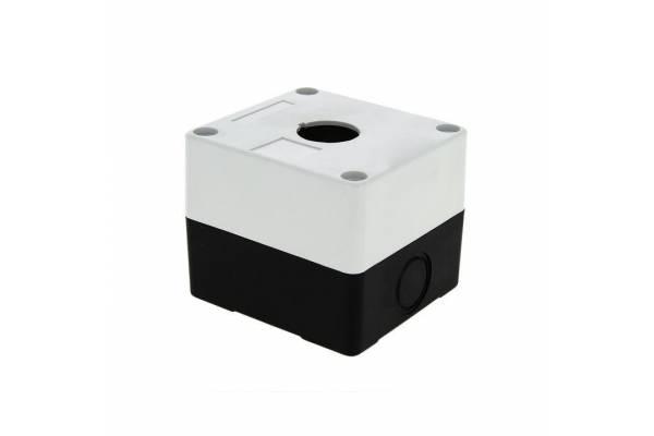 Корпус КП 101 1 кнопка бел. EKF cpb-101-w