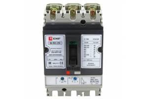 Выключатель авт. 3п ВА-99C 250/250А 45кА EKF mccb99C-250-250