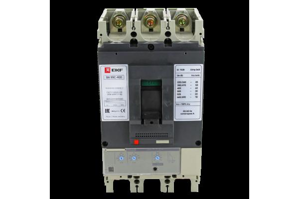 Выключатель авт. 3п ВА-99C 400/400А 45кА EKF mccb99C-400-400