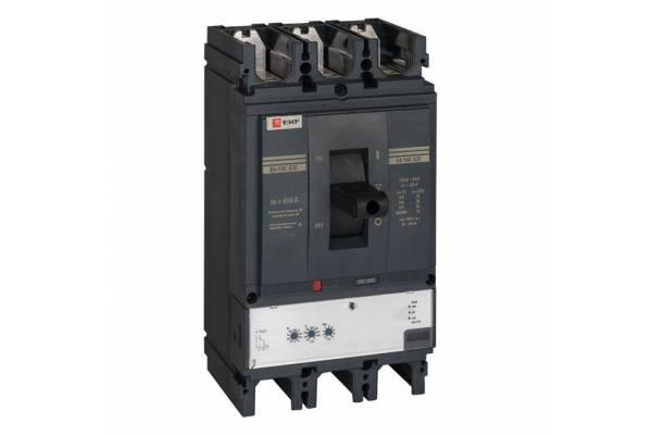Выключатель автоматический 3п 630/630А 45кА ВА-99C Compact NS PROxima EKF mccb99C-630-630