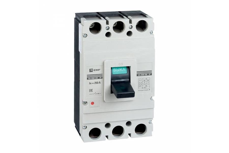 Выключатель автоматический 3п 400/400А 42кА ВА-99М PROxima EKF mccb99-400-400m