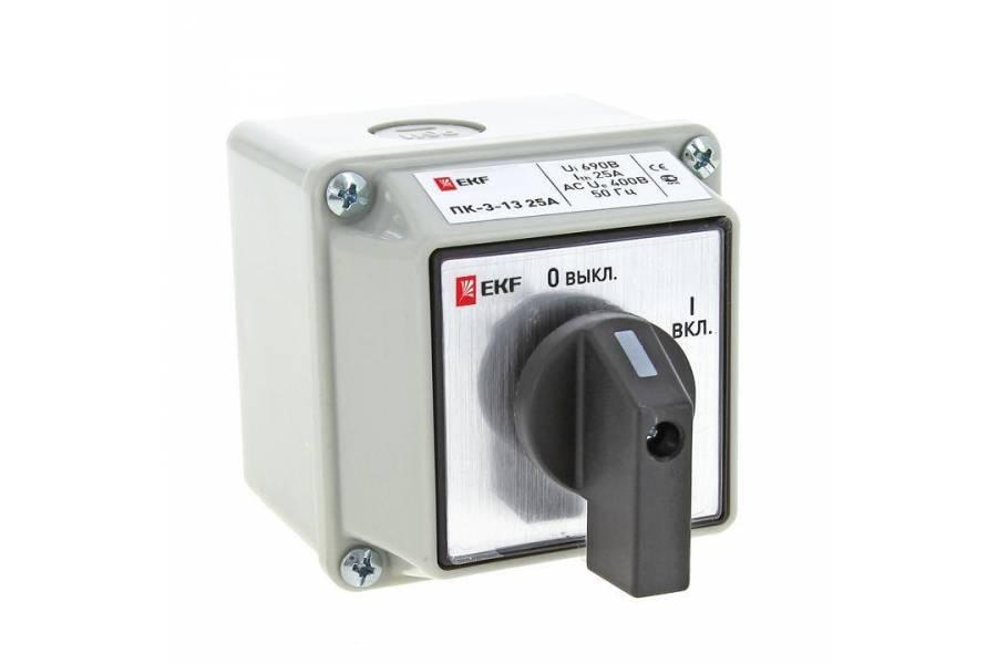 Переключатель кулачковый ПК-3-13 3П 16А