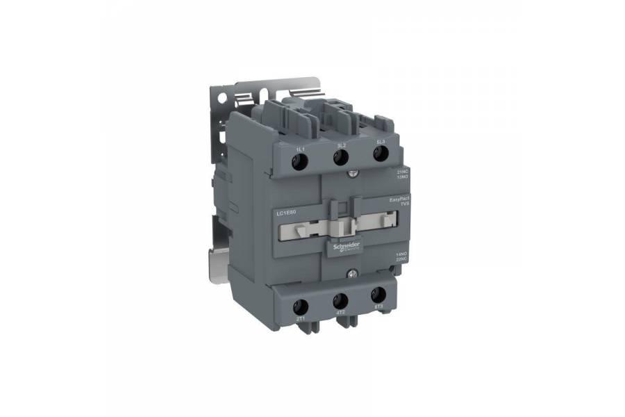 Контактор 3п 80А 1НО+1НЗ 220В AC TeSys E SchE LC1E80M5