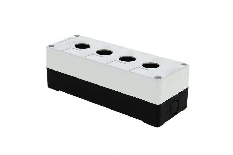 Корпус КП104 4 кнопки бел. EKF cpb-104-w