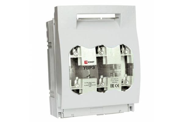Выключатель-разъединитель УВРЭ 160А откидного типа под предохранители ППН (габ.00) EKF uvre-160
