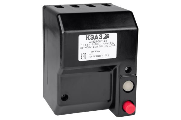 Выключатель автоматический 10А 10Iн АП50Б 3МТ У3 400В AC КЭАЗ 107261