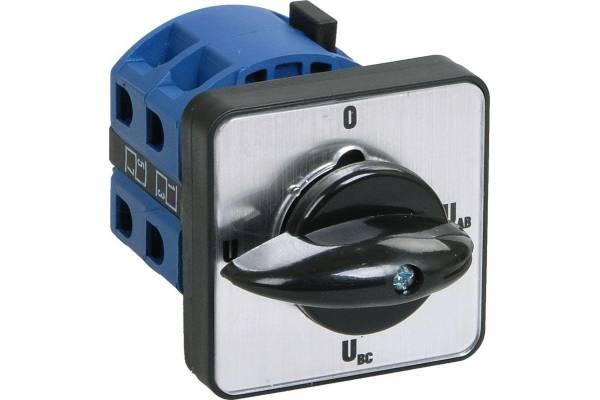 Переключатель кулачковый ПКП63-13/0 63А на 2 полож. откл. - вкл. 400В ИЭК BCS13-063-1