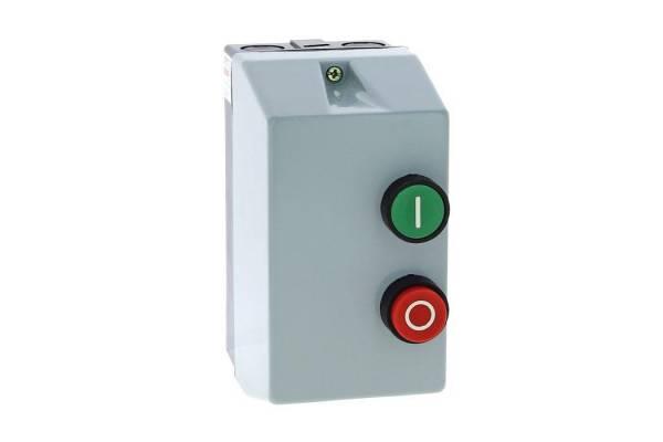 Пускатель электромагнитный КМЭ-9А 380В с РТЭ в корп. IP65 EKF ctrp-r-9-380v