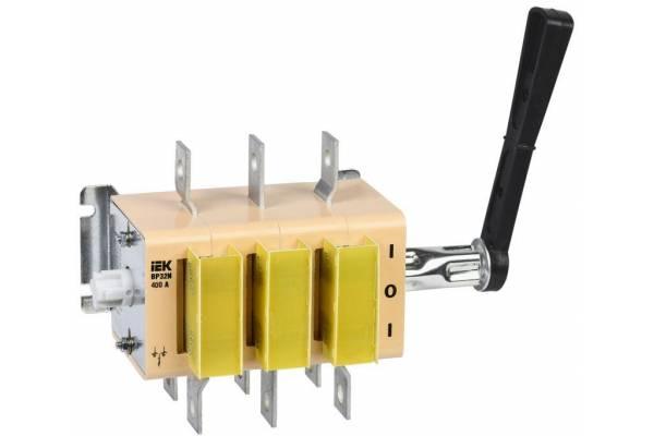 Выключатель-разъединитель ВР32И-37В71250 400А IEK SRK31-211-400