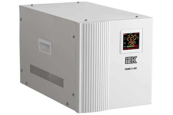 Стабилизатор напряжения Prime 8кВА переносной ИЭК IVS31-1-08000