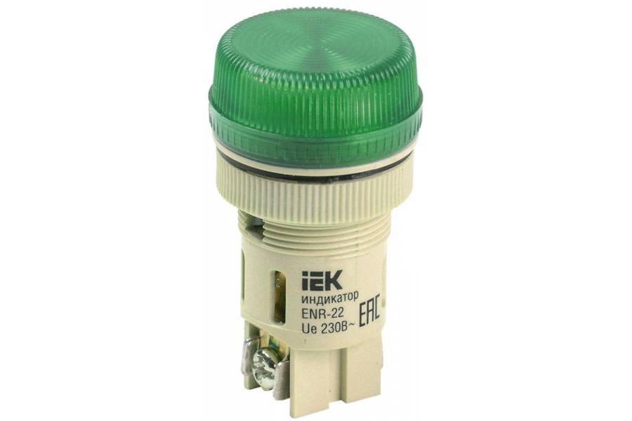 Арматура светосигнальная ENR-22 зел. IEK BLS40-ENR-K06
