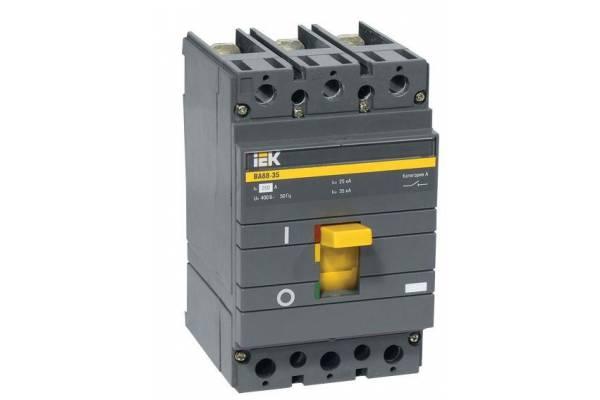 Выключатель автоматический 3п 250А 35кА ВА 88-35 ИЭК SVA30-3-0250