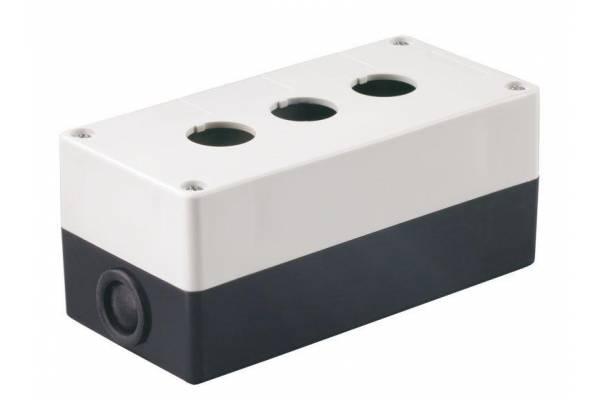 Корпус КП 103 3-м для кнопок IEK BKP10-3-K01
