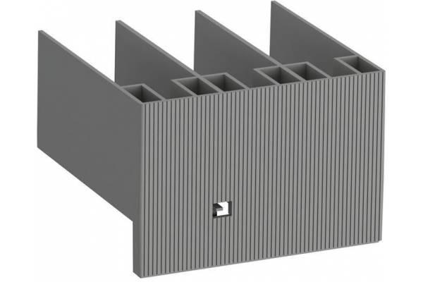 Блок контактный дополнительный CA5X-01 (1Н3) фронтальный для контакторов AX06…AX80 и реле NX ABB 1SBN019010R1001