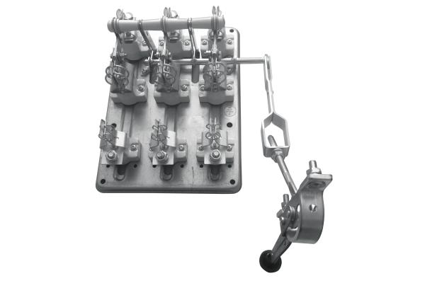 Разъединитель РПС-4 400А П правый привод без ППН PROxima EKF rps-400
