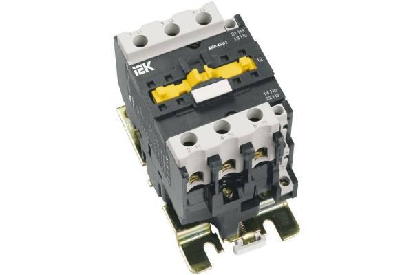 Контактор КМИ-46512 65А 400В/AC3 1HО;1H3 ИЭК KKM41-065-400-11