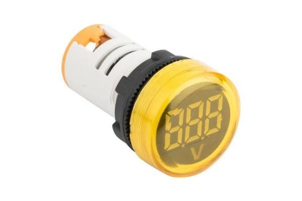 Индикатор значения напряжения ED16-22VD желт. PROxima EKF ed16-22vd-y