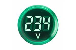 Индикатор значения напряжения ED16-22VD зел. PROxima EKF ed16-22vd-g