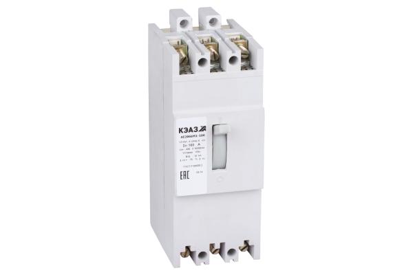 Выключатель автоматический 160А 10Iн АЕ2066М1-100 У3 400В AC КЭАЗ 104544