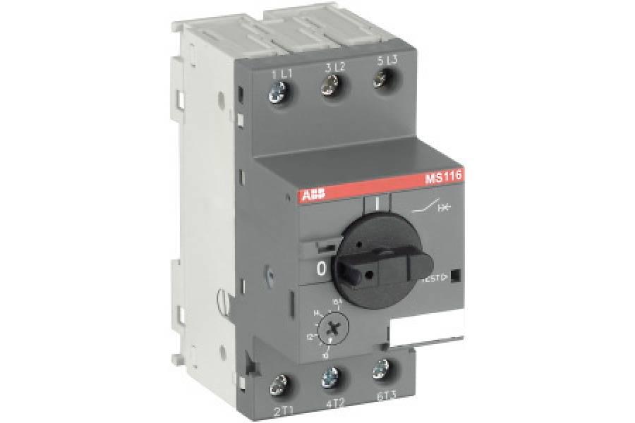 Выключатель авт. защиты двиг. MS-116-10.0 50kA ABB 1SAM250000R1010