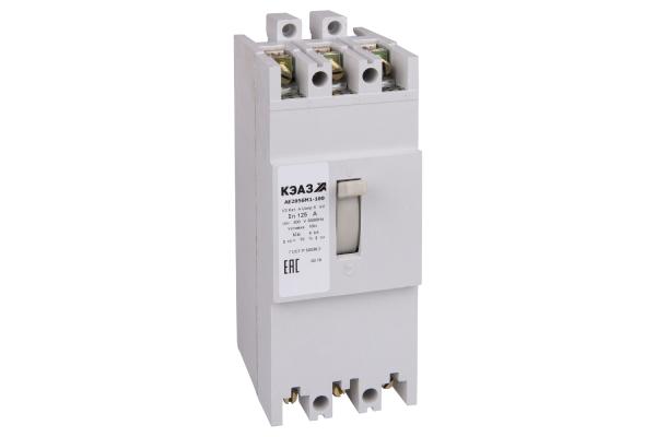 Выключатель автоматический 125А 10Iн АЕ2056М1-100 У3 400В AC КЭАЗ 104517