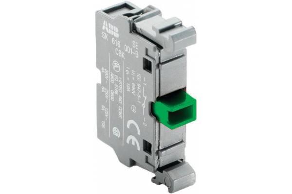 Блок контактов MCB-10 фронт. монтаж 1НО ABB 1SFA611610R1001