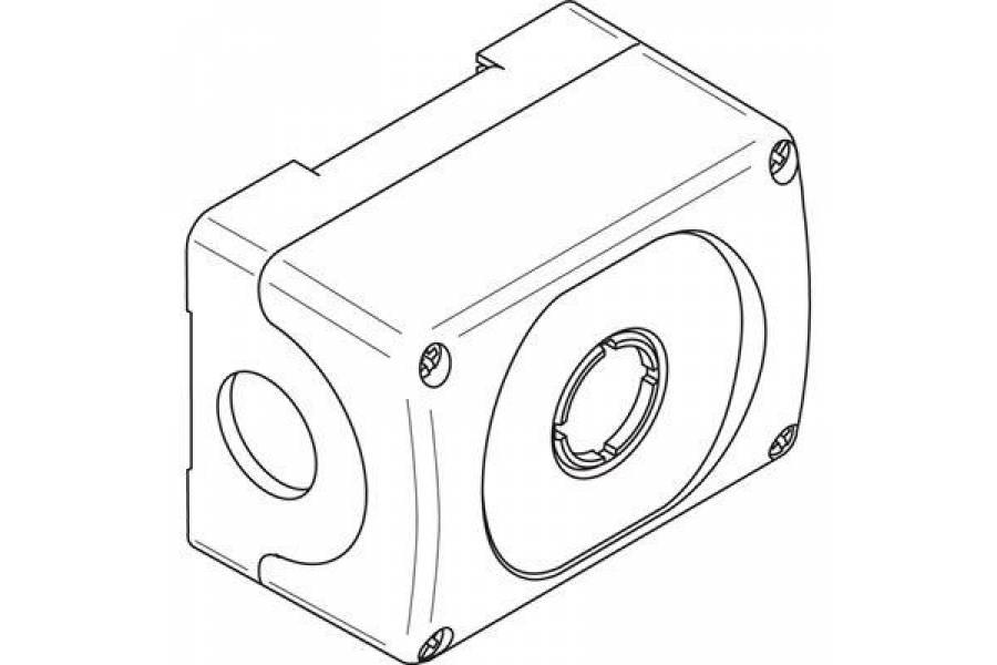 Корпус кнопочного поста MEP1-0 на 1 эл. ABB 1SFA611811R1000