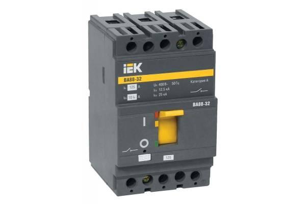 Выключатель автоматический 3п 50А 25кА ВА 88-32 ИЭК SVA10-3-0050