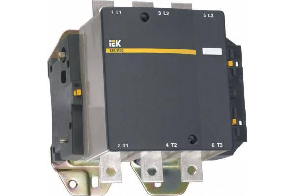 Контактор КТИ-6400 400А 230В/АС3 IEK KKT60-400-230-10