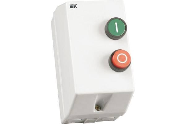 Контактор КМИ-11860 18А 380В/АС3 IP54 ИЭК KKM16-018-380-00