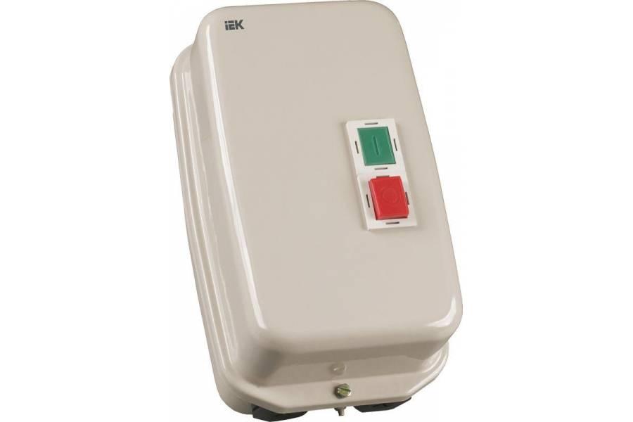 Контактор КМИ-34062 40А 380В/АС3 IP54 ИЭК KKM36-040-380-00