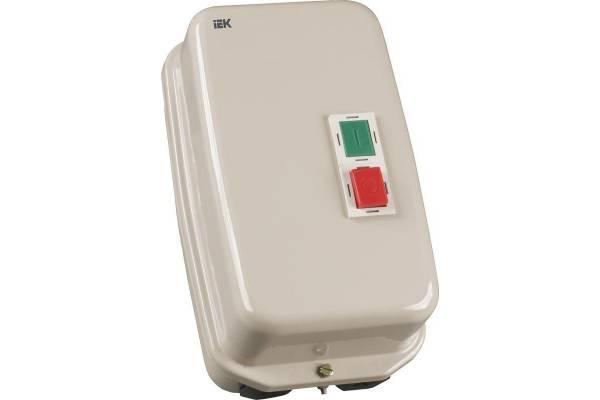 Контактор КМИ-46562 65А 380В/АС3 IP54 IEK KKM46-065-380-00