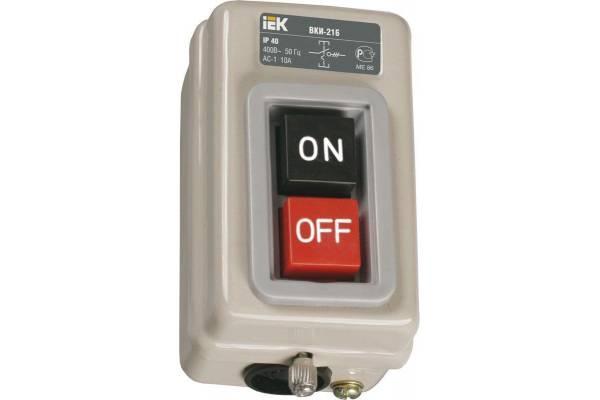 Выключатель ВКИ-211 6А 230/400В IP40 IEK KVK10-06-3