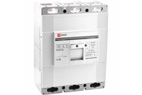Выключатель автоматический 3п 800/630А 35кА ВА-99 PROxima EKF mccb99-800-630