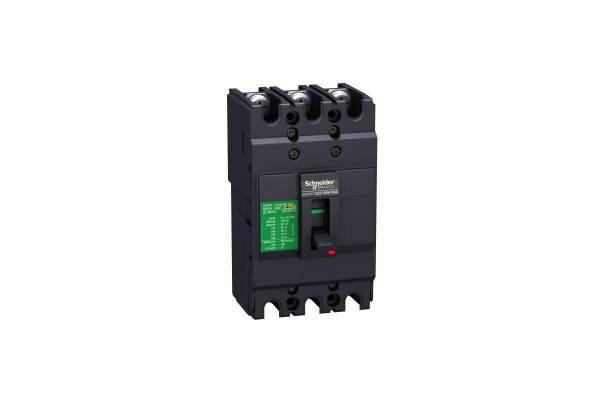 Выключатель автоматический 3п 3т 40А 18кА EZC100N SchE EZC100N3040