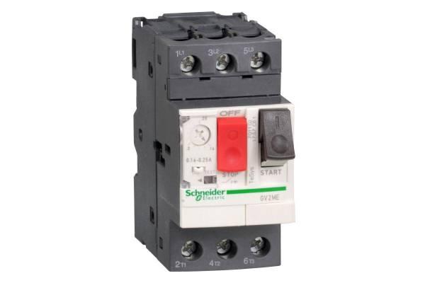 Выключатель авт. защиты двиг. ME08 (2.5-4А) SchE GV2ME08