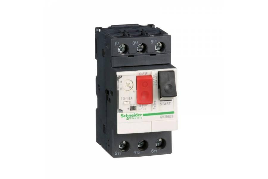 Выключатель авт. защиты двиг. ME20 (13-18А) SchE GV2ME20