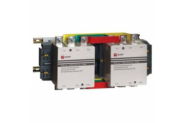 Контактор КТЭ реверсивный 150А 230В 2NO EKF ctr-b-r-150