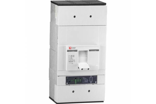 Выключатель авт. 3п ВА-99 1600/1000А EKF mccb99-1600-1000