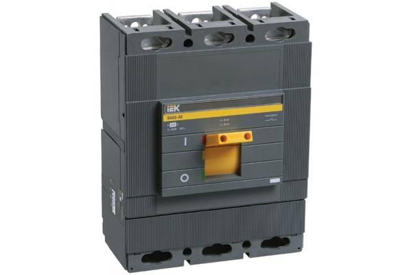 Выключатель автоматический 3п 400А 35кА ВА 88-40 IEK SVA50-3-0400