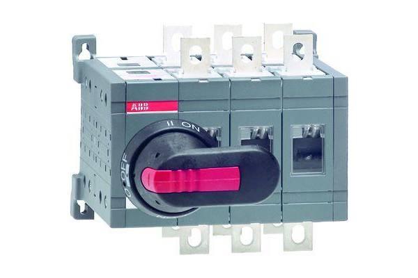 Рубильник реверсивный OT160E03C 160А ABB 1SCA022767R0030
