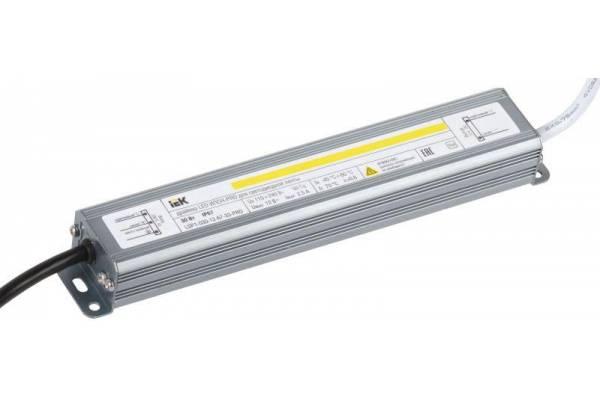 Драйвер LED ИПСН-PRO 5050 30Вт 12В блок-шнуры IP67 IEK LSP1-030-12-67-33-PRO