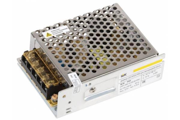 Драйвер LED ИПСН-PRO 5050 50Вт 12В блок-клеммы IP20 IEK LSP1-050-12-20-33-PRO