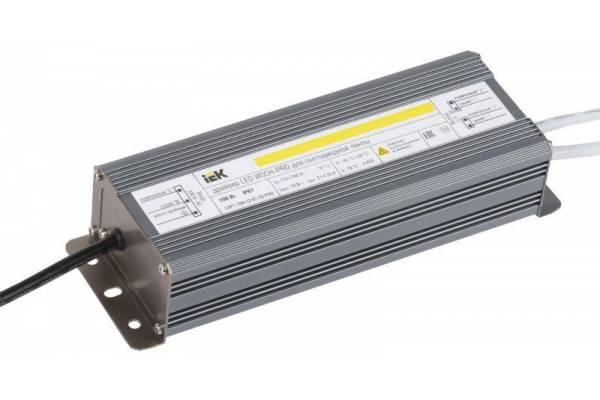 Драйвер LED ИПСН-PRO 5050 100Вт 12В блок-шнуры IP67 IEK LSP1-100-12-67-33-PRO