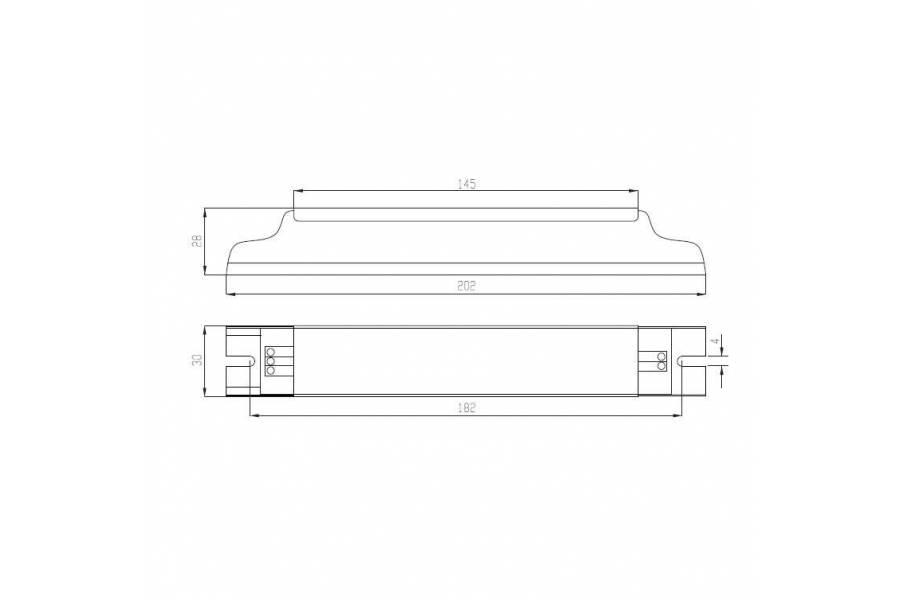 Драйвер ИПС39-350Т ЭКО 0210 IP20 Аргос