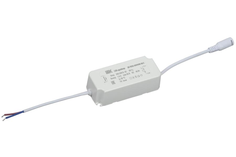 Драйвер LED SESA-ADH40W-SN Е для LED светильников 40Вт ИЭК LDVO0-40-0-E-K01