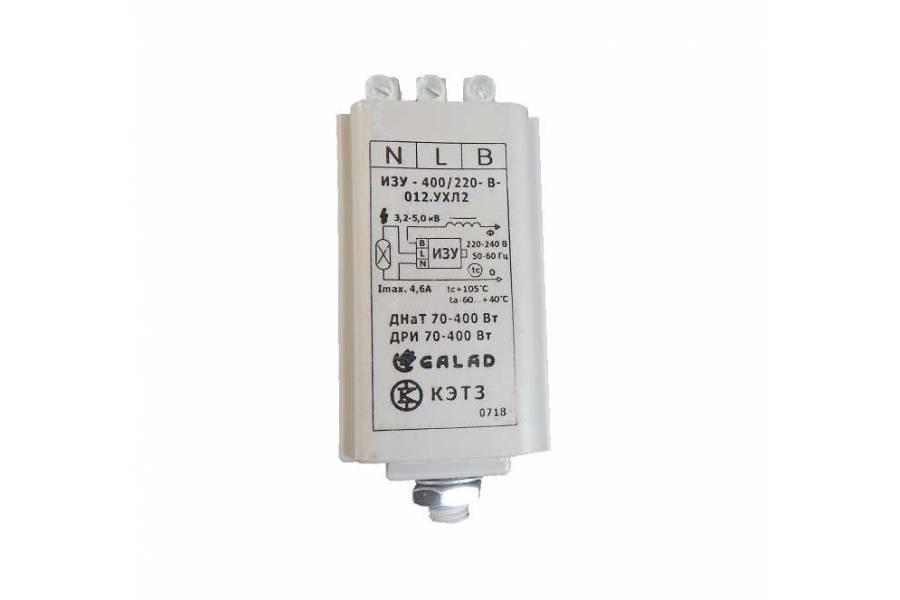Устройство зажигающее импульс. ИЗУ-400/220-В-012 УХЛ2 GALAD 10160