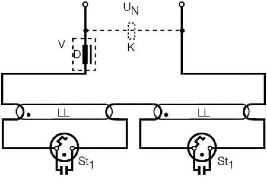 Стартер ST 151 SCHP OSRAM (1200) 4050300854083