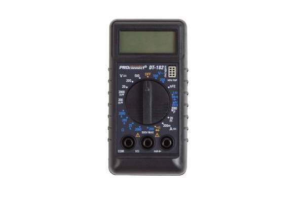 Мультиметр портативный М-182 (DT-182) PROCONNECT 13-3014