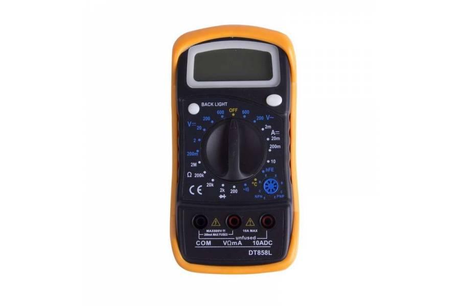 Мультиметр универсальный MAS838L(DT858L) PROCONNECT 13-3022
